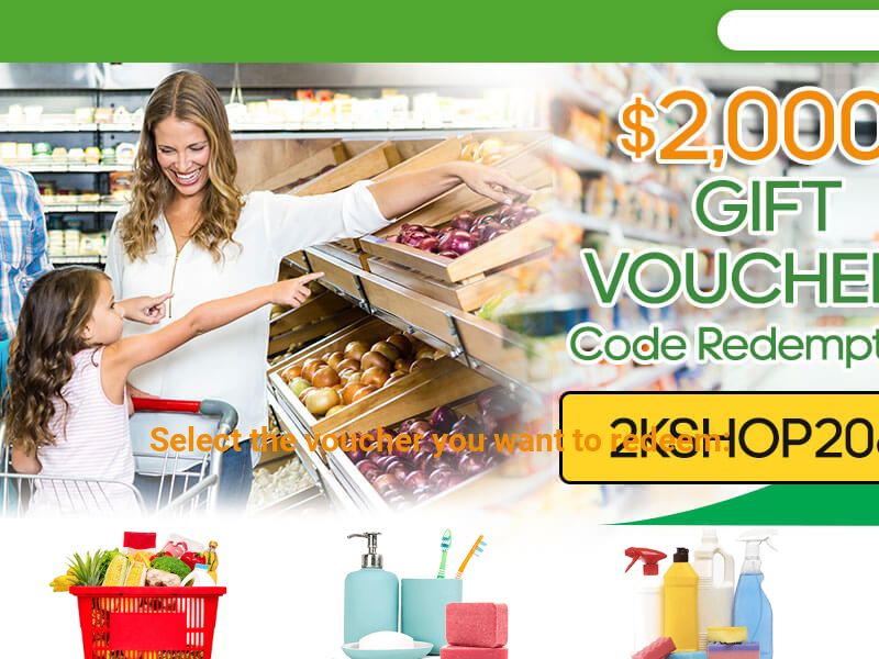 Grocery Voucher (IGA, Coles, Aldi) | AU
