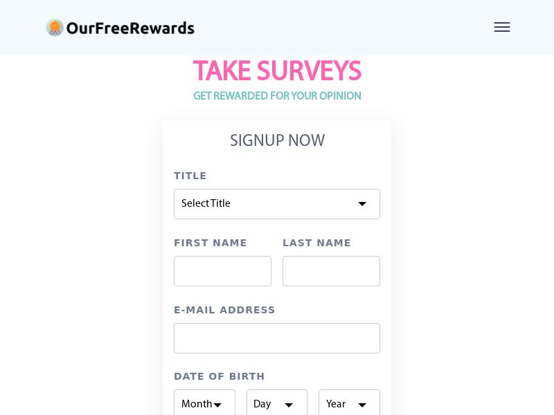 Get Rewarded for your Opinion - US - CPL [DIRECT]