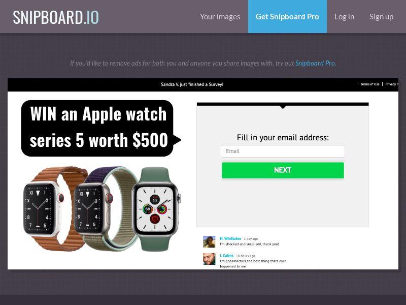 36906 - US - YouSweeps - Win an Apple watch - SOI
