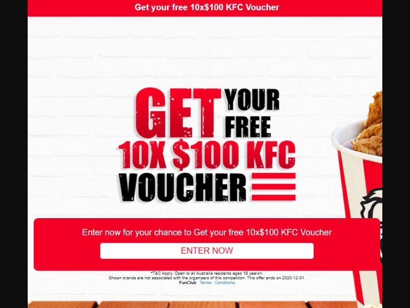 KFC Voucher (AU)