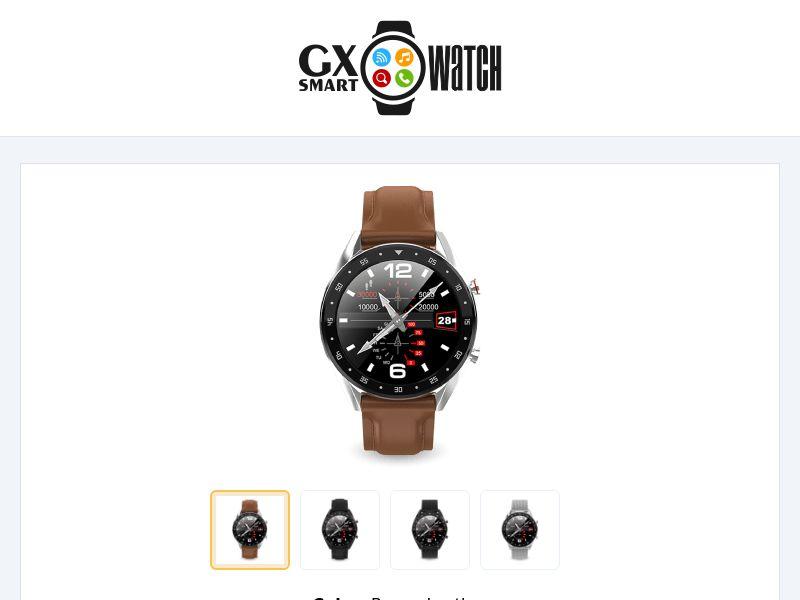 GX SmartWatch - eCommerce - WW