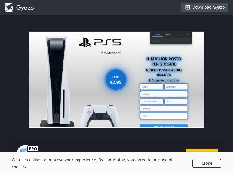 rushwinning PlayStation 5 IT | CC Sub