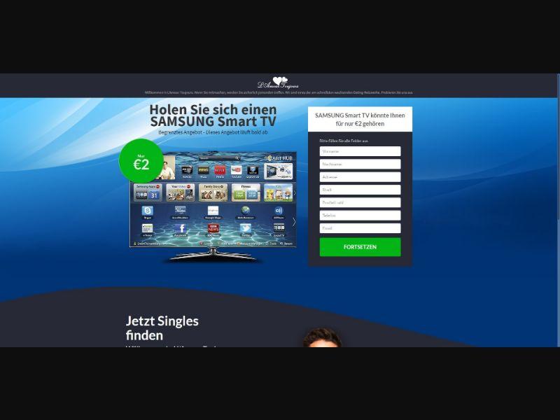 L'Amour Toujours Samsung Smart TV - Sweepstakes & Surveys - Trial - [DE]