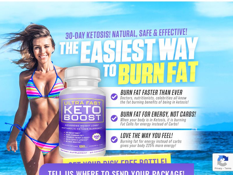 Ultra Fast Keto Boost (PPS) - Weight Loss/Health - US * PENDING * Private Offer *
