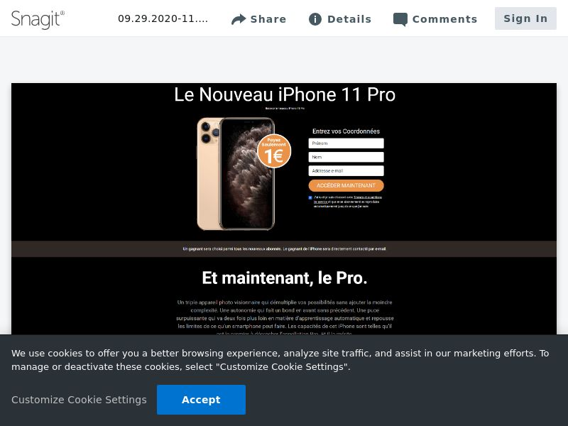 uWin iPhone 12 | BE (fr)