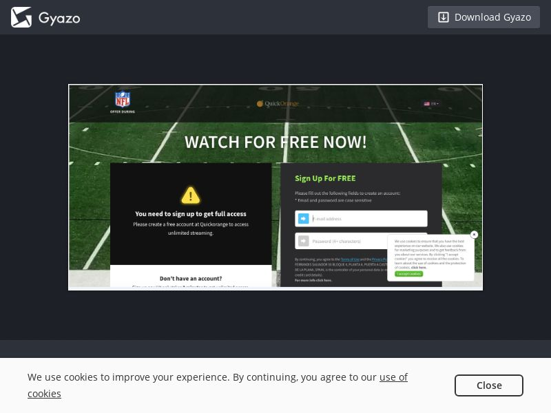 QuickOrange - NFL (US) (Trial) (Personal Approval)