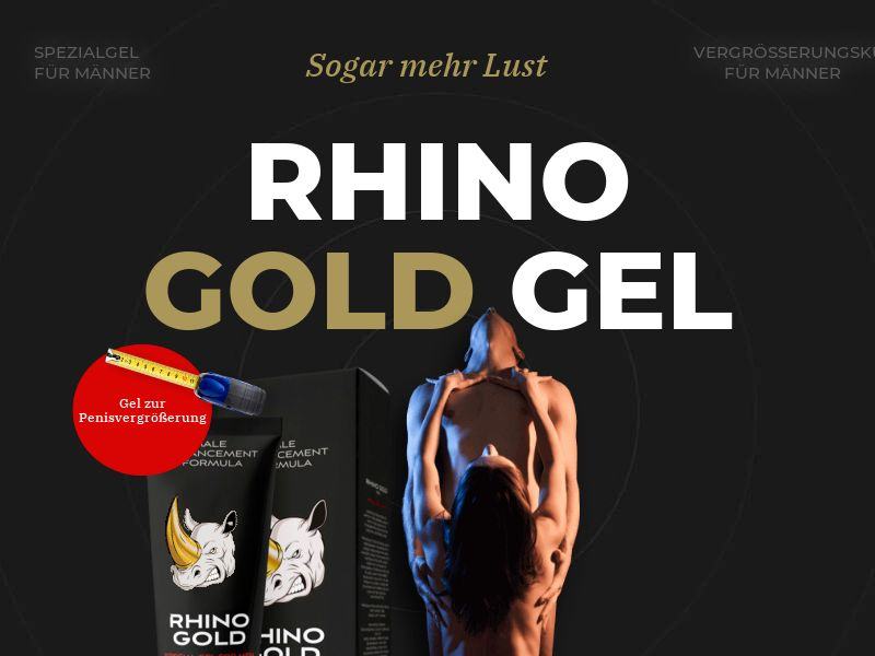 Rhino Gold Gel - DE, AT