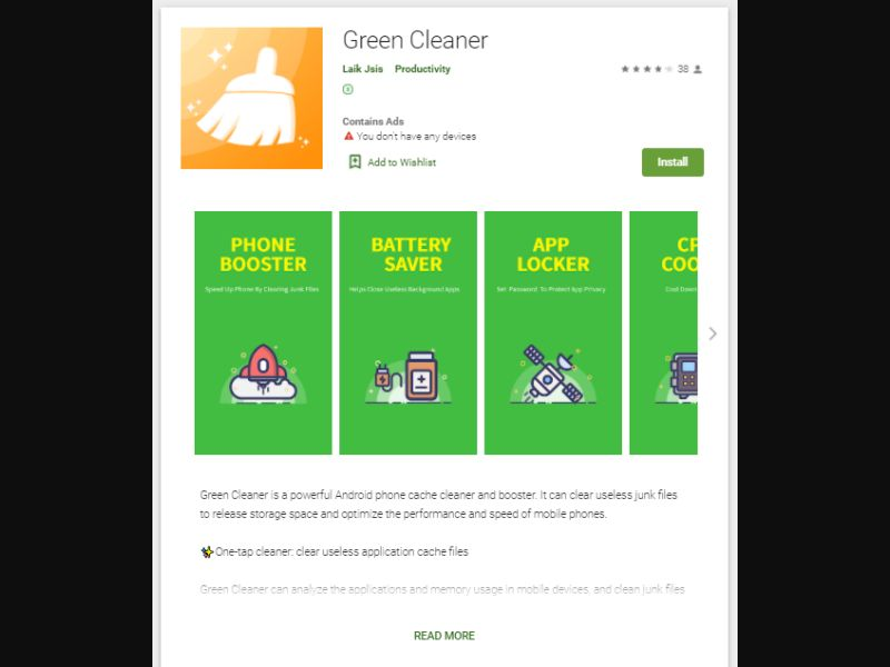 !SO! Green Cleaner Special Offer [US] - CPI