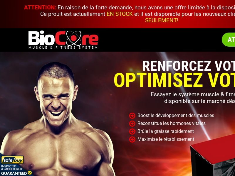 BioCore - SS - FRENCH - (Muscle)
