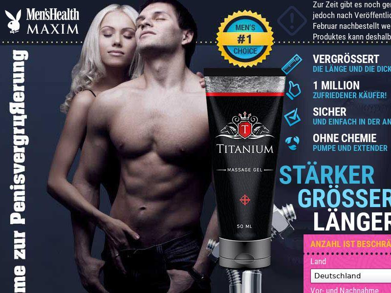 Titanium DE - penis enlargement cream