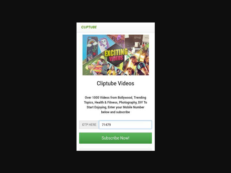 Cliptube Videos (BH)