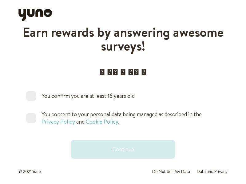 Yuno Survey - Premium - INCENT - HK