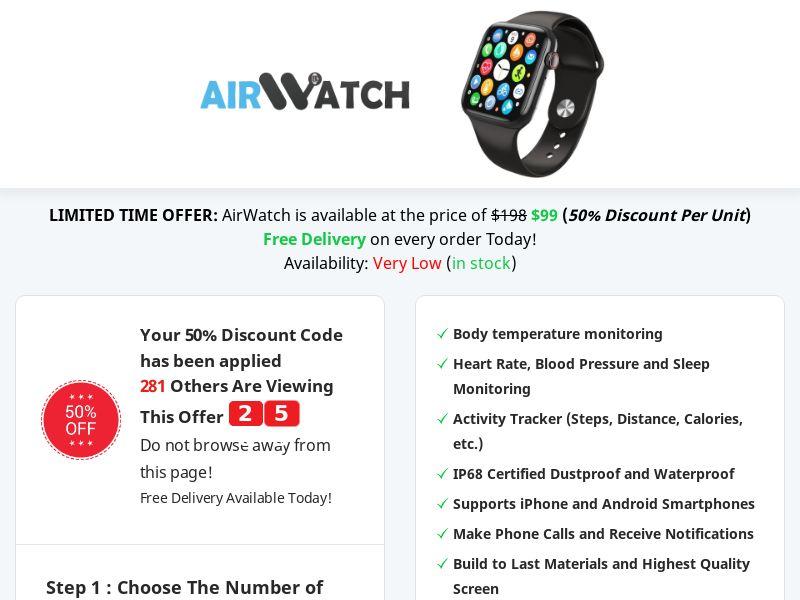 AirWatch - Best Deal Today