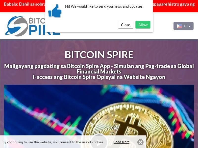 The Bitcoin Spire Filipino 2688