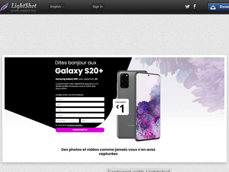Lucky Winner - Samsung S20+ - LP43 (FR) (Trial)