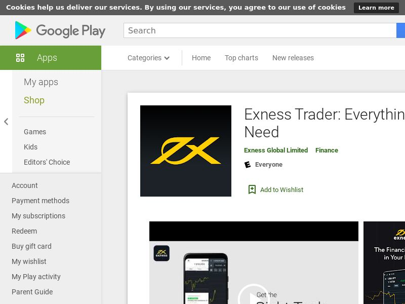 Exness-IN-Android (CPR=cost per rgistration)