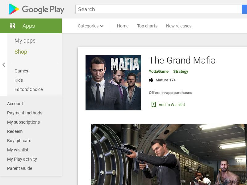 The Grand Mafia - Android CPE - FR