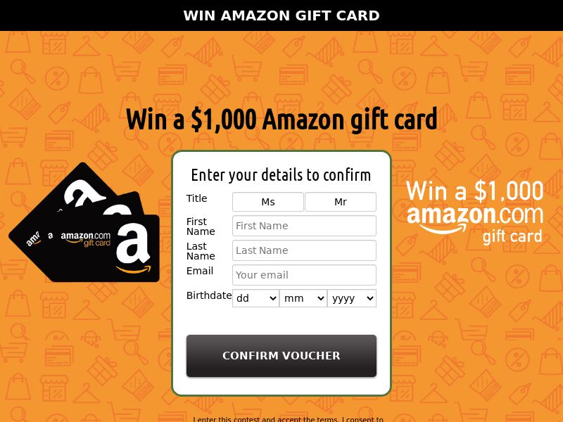 xlWin - Win a $1,000 Amazon Gift Card (SOI) - Sweepstakes - NZ