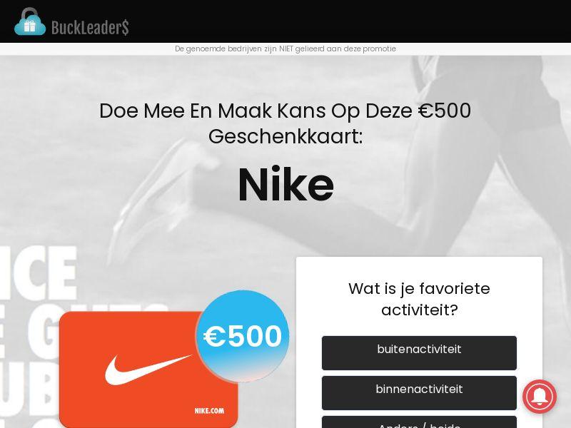 Buckleaders - Nike - BE