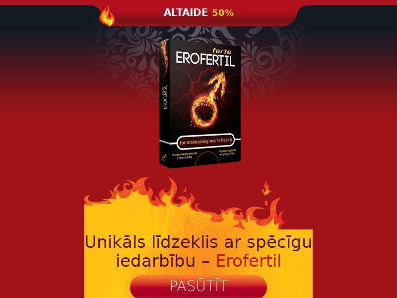 Erofertil LV - potency treatment product
