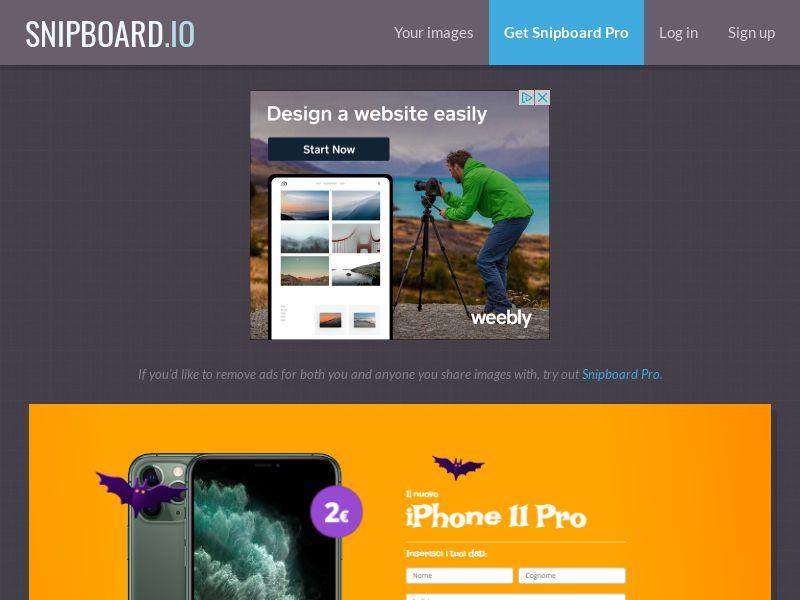 BigEntry - iPhone 11 Pro v3 Halloween IT - CC Submit