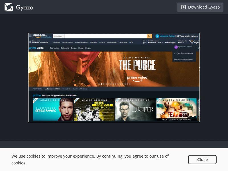 Amazon Prime Video FR IT - CC submit - Desktop, Mobile