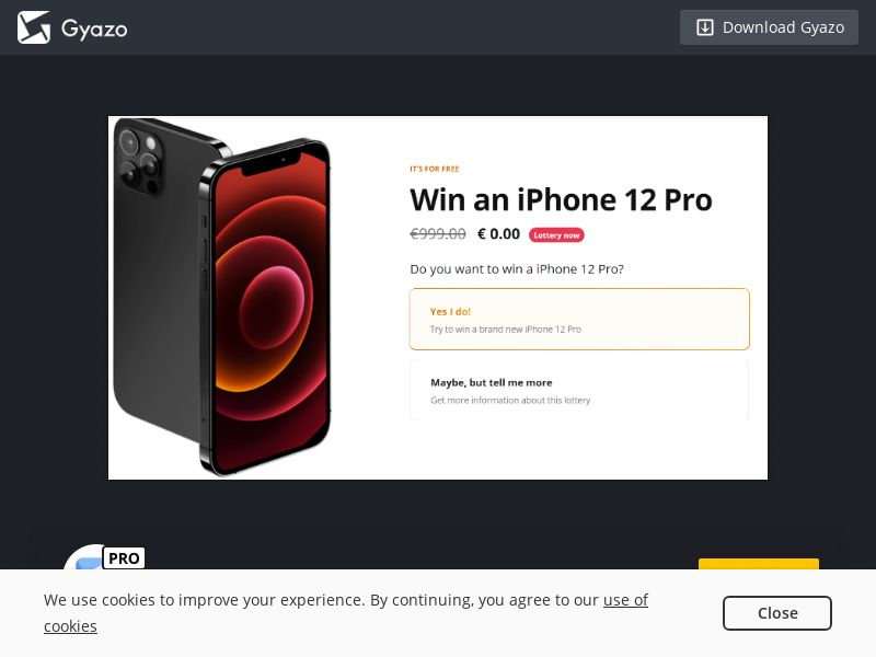 Moviepin - Win IPhone 12 (US) (Trial) (Personal Approval)