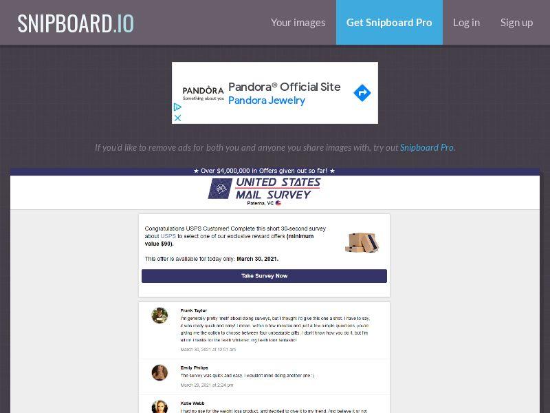 40792 - US - (SURVEY) - USPS Mail Survey - Rewardpromo - CPA - (CC TRIAL)