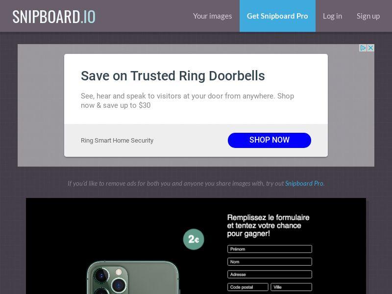 BigEntry - iPhone 11 Pro v1 FR - CC Submit