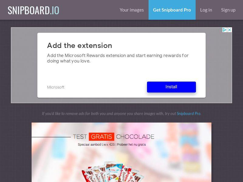 LeadsWinner - Kinder Chocolates NL - SOI