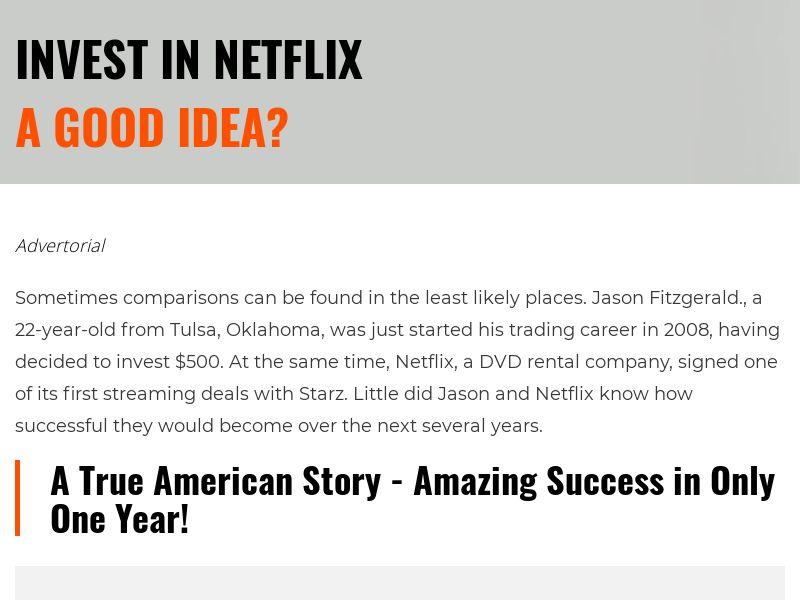 Invest in Netflix CySEC - Legal/Regulated - ZA
