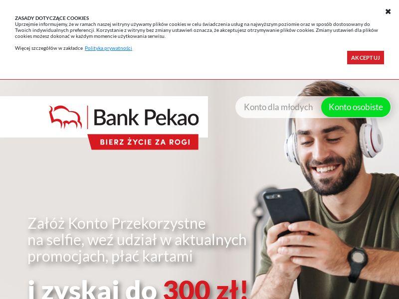 Bank Pekao - Konto Przekorzystne - PL (PL), [CPA]
