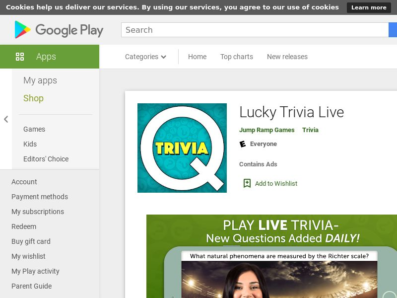 Lucky Trivia Live - Android CPE - US