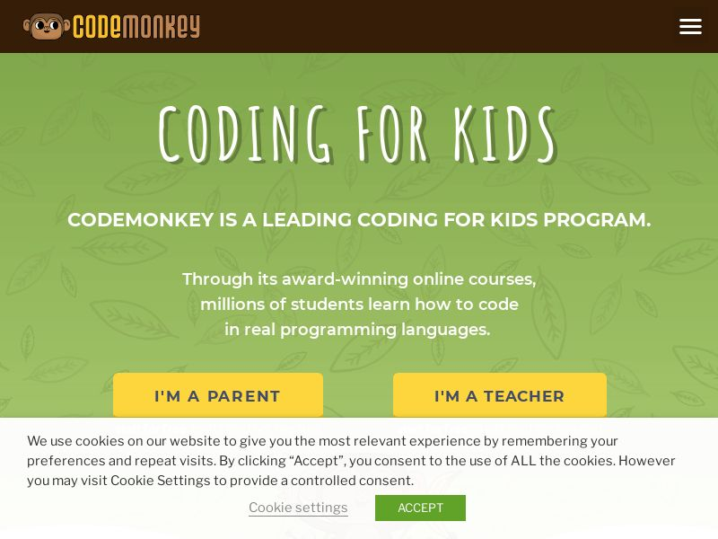CodeMonkey - Coding For Kids - CPL - US