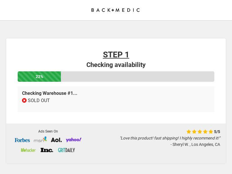Back Medic - Smart Posture Corrector - CPA - [US/CA]