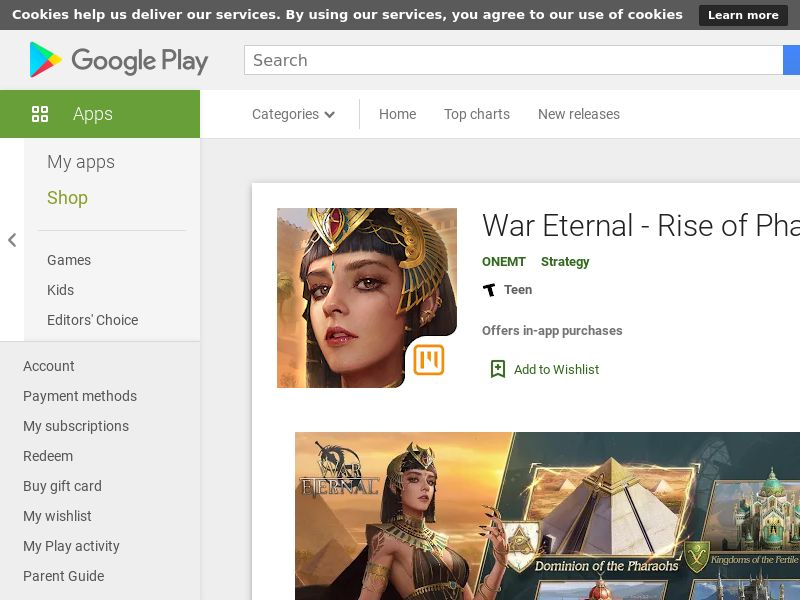 War Eternal - Epic Kingdoms AND VN GAID
