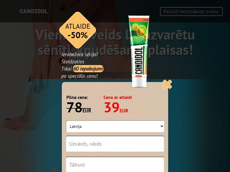 Candidol LV - antifungal solution