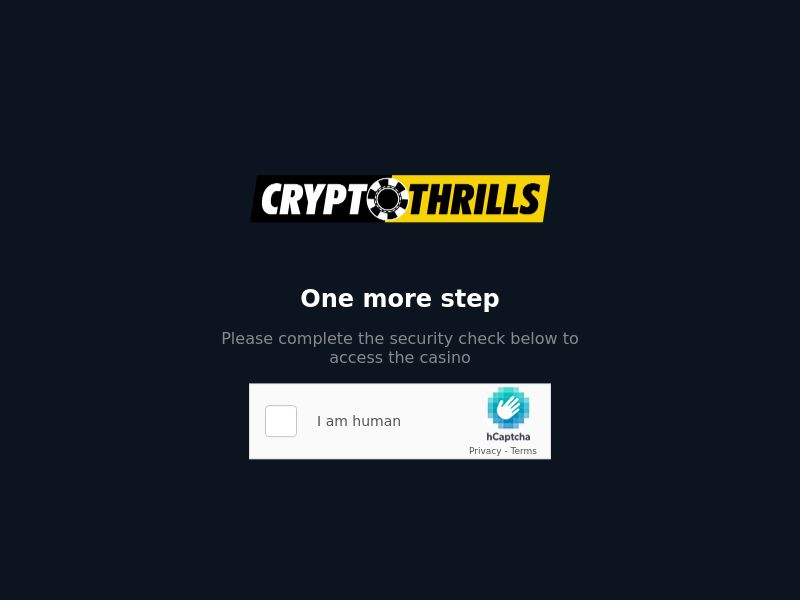 CryptoThrills - 500% Deposit Match up to 1 BTC & 100 Free Spins on Electron