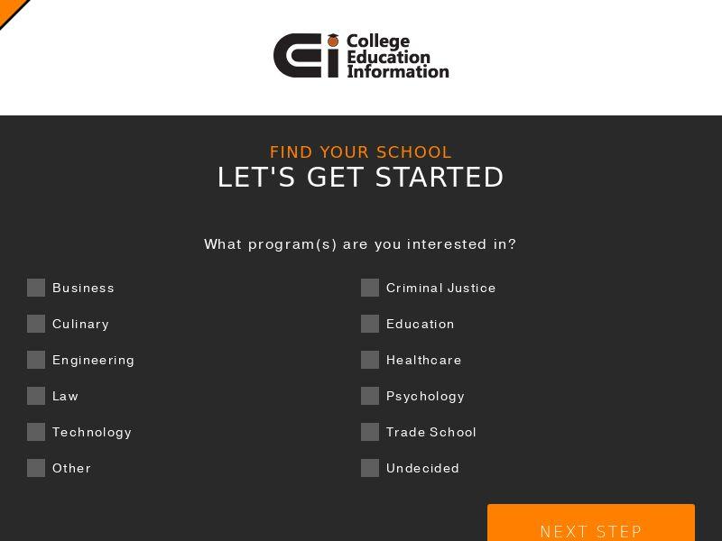 CollegeInfo - (Display) - Non Grant