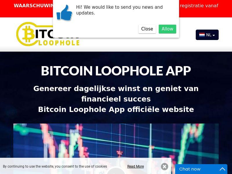 Bitcoin Loophole Pro Dutch 2073