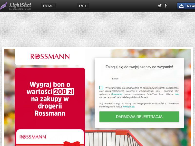 Wyspaofert Rossman (Sweepstake) (SOI) - Poland