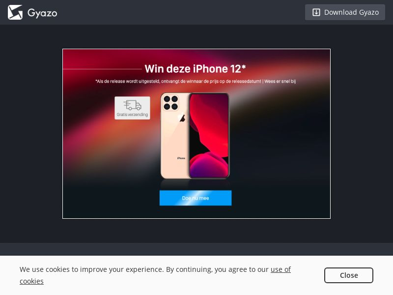 Win iPhone 12 Sweeps - BE